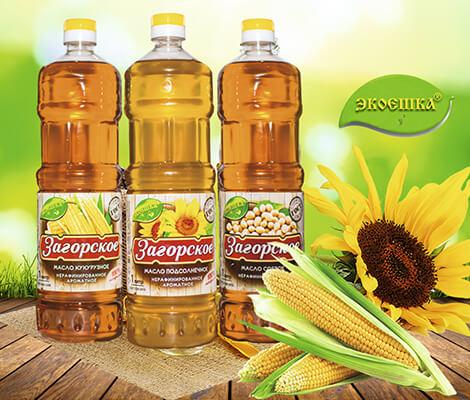 Натуральное нерафинированное масло «Загорское»